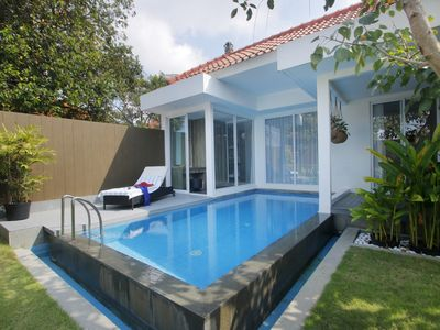 Photo for Romantic Beachfront Villa, Tanjung Benoa