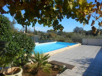 Photo for Nice house with pool in Provence Verte