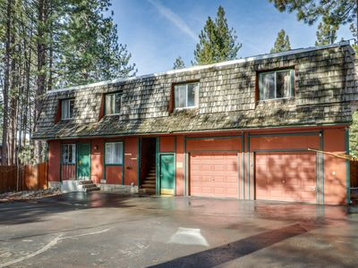 Photo for Cabin-style condo w/ shared hot tub & dog-friendly, fenced grounds