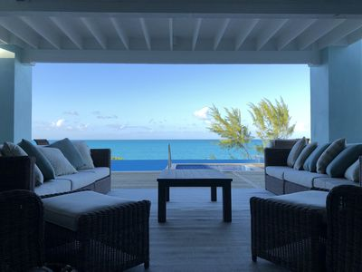 Photo for New Beachfront Villa - Infinity Pool & Sandy Beach All Year Round
