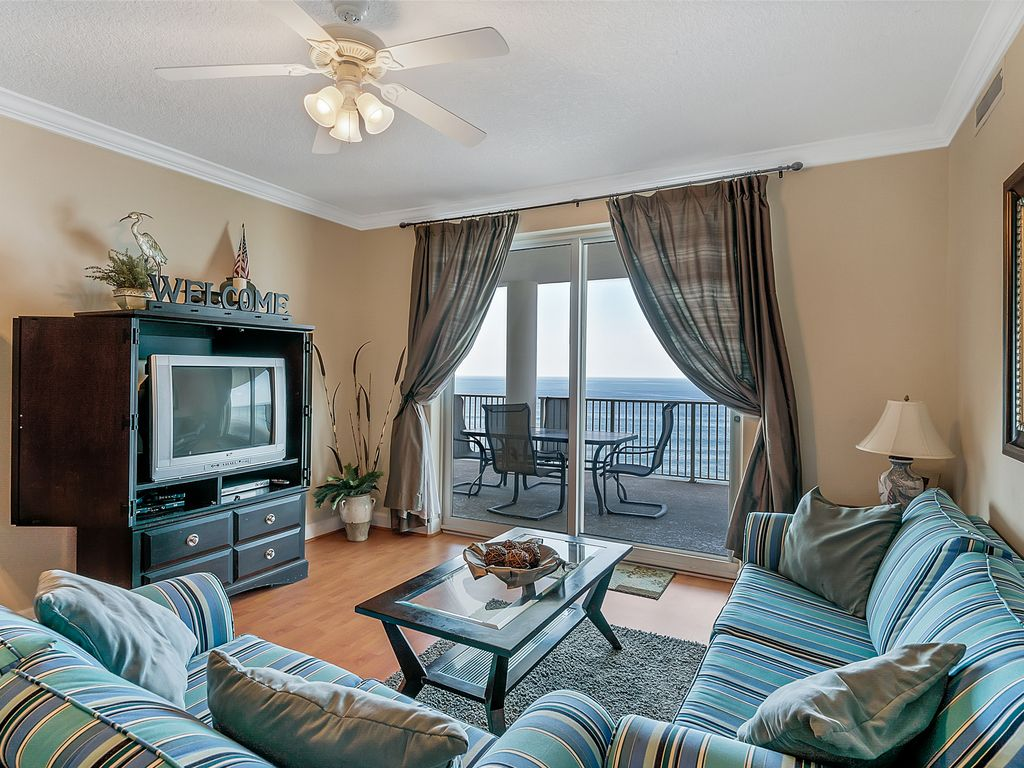 Popular 4 Bedroom Low Floor Ocean Ritz Resort Gulf Front