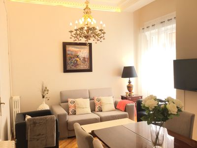 Photo for Classic apartment with modern air. WiFi. Reina 1 by Forever Rentals