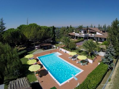 Photo for VILLA WITH POOL, GYM AND SPA