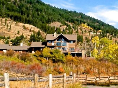 Photo for Magnificent Bridger Canyon home only 7 miles from Bozeman City Limits