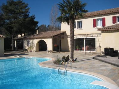 Photo for Villa with pool, quiet and rest near Fréjus, Cannes, Grasse, Draguig