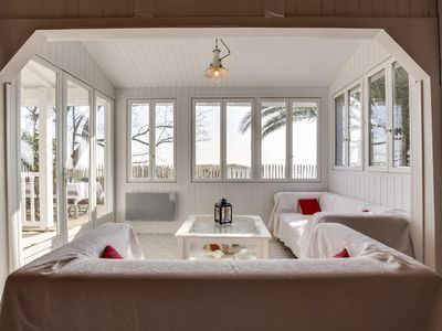 Photo for Stay at Regina, a modern fisherman's cottage overlooking the beach, in Cap-Ferret