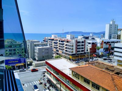 Photo for 3 bedroom apartment with sea view in the heart of Meia Praia!