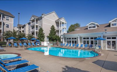 Photo for 1BR Suite with Resort Pool, FREE WIFI, Near Attractions