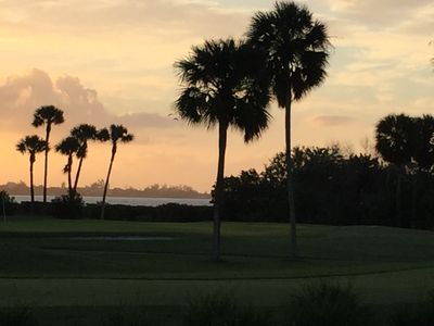 Sunrise over the Indian River lagoon...beautiful way to wake up in the morning!!