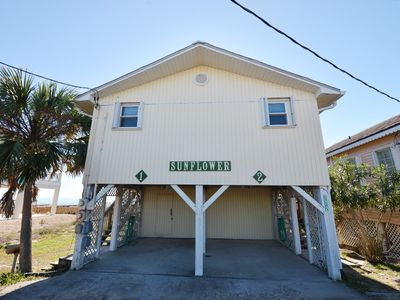 Photo for Sunflower 1 is a bright, cozy, and inviting beachfront cottage.