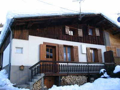 Photo for 2BR Chalet Vacation Rental in Beaufort, Auvergne-Rhône-Alpes