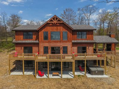Photo for Stairway to Heaven- 5 bedroom lake access/golf area home with modern interior