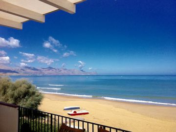 Mediterranean villa on the sea, Gulf of Castellammare wifi free tv climate, park, bb