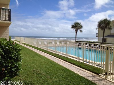 Photo for First Floor Oceanview Condo, few steps from Pool/Beach/Clubhouse