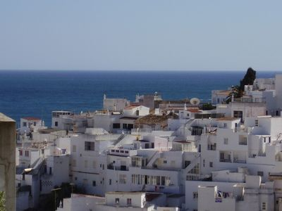 View of Old Town & sea from balcony