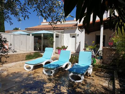 Photo for Pretty Family House Secured Swimming Pool, Quartier des Villas 2cb 2sdb 6pers