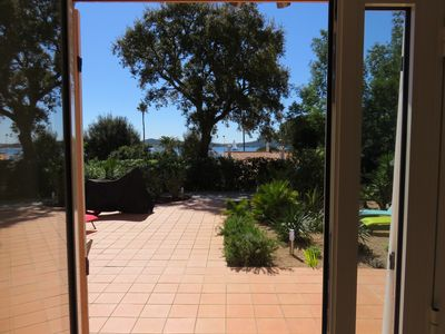 Photo for Apartment 90m² with large terrace located 200m from the beach