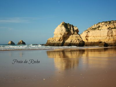 Photo for Praia da Rocha: BEACH IN 1st line