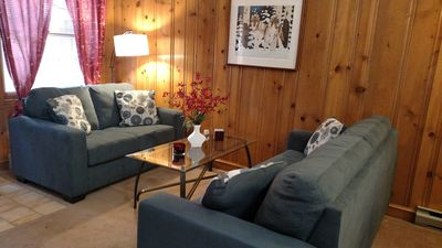 Photo for Skier's Retreat 3BR/2BA | Parking | WiFi | Walk to Lift or take shuttle