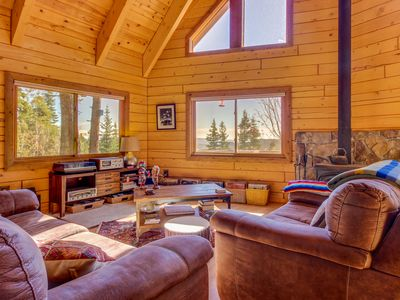 Photo for Unplugged, dog-friendly getaway w/tree-lined views, & private yoga studio