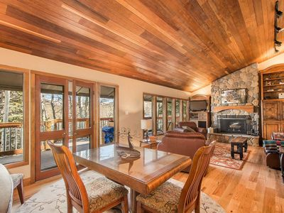 Photo for FREE Ski Rental! Updated & Secluded Mountainside Retreat - Ski to Silver Star Lift! Fireplace, HDTVs