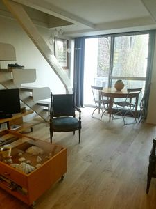 Photo for charming duplex 54m2 near montparnasse .calme, bright, 1SdB, separate toilet