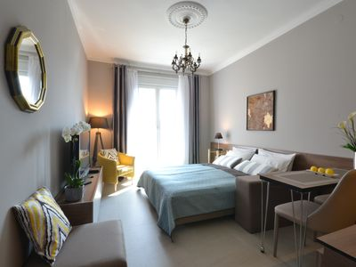 Charming, quiet and elegant studio and for two in elite part of Belgrade