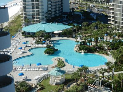 Photo for 1 BR / 2 BA beach front condo, Sleeps 4, beach front pools, great amenities