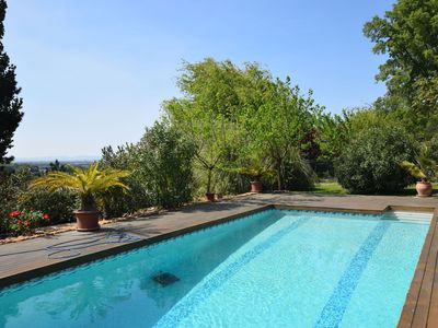 Photo for Holiday Home in Les Granges-Gontardes with Pool