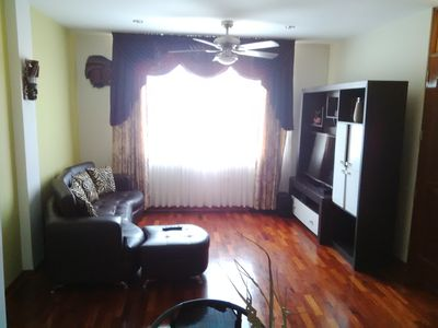 Photo for Apt in Surco 20 mins to Park Kennedy Miraflores close to Public Transportation