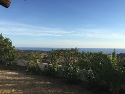 Ocean view from the house porch