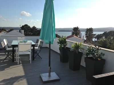 Photo for Villa with beautiful views of the lagoon and the ocean, 4 Bedrooms, Swimming Pool