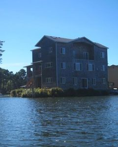 Photo for Lake Front Ocean View Getaway. Three Story Handicap Accessible