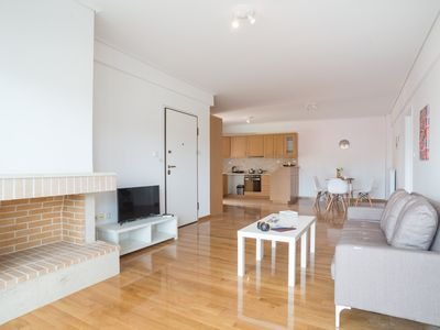 Photo for Marousi modern apartment C2- 2 min walk from metro