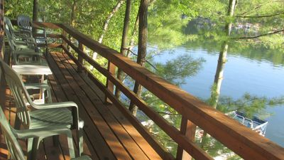 Photo for Classic Lakefront Home W/Optional Guest Cottage On Spider Lake; Sleeps 6-10