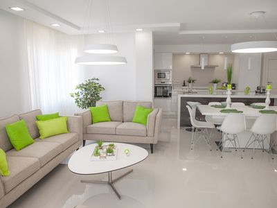 Photo for Deluxe sea view apartment in Puerto Marina