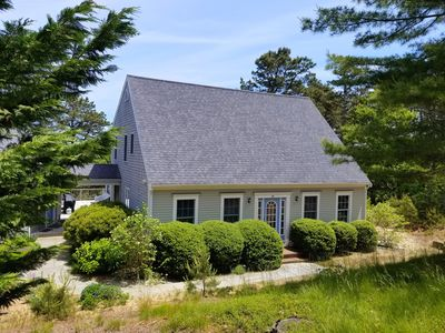 Photo for Just Listed -Spacious 5BD--Central A/C, Walk to Wellfleet Center,  Private Lot with Wooded Views