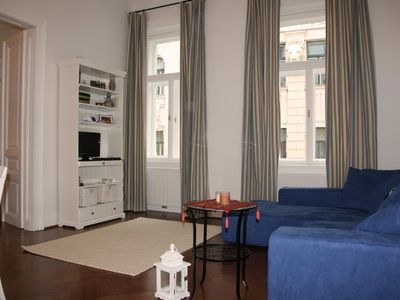 Photo for elegant city-apartment in a top site with maritime flair