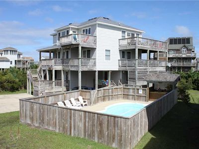 Photo for Oceanside in Waves w/Htd Pool&HotTub, RecRoom
