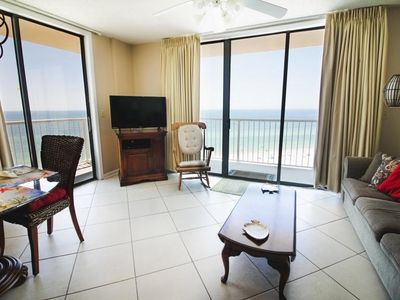 Photo for email for GREAT Spring rates! GULF FRONT PENTHOUSE 3BR/2BA Unit 3906*SLEEPS 8