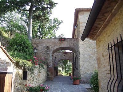 Photo for Apartment in Volterra with Parking, Internet, Washing machine, Pool (632582)