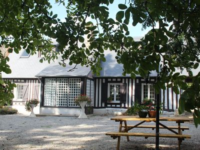 Photo for Normand cottage completely renovated - quiet - with 2000 m² of green spaces