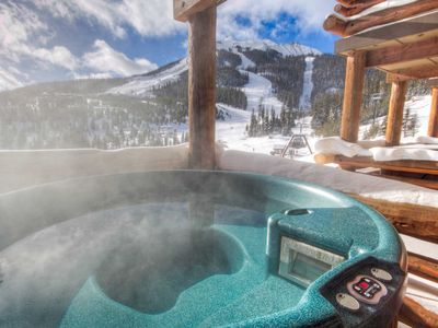 Photo for 7 Day Summer Cancellation/Saddle Ridge Moonlight Basin/Private Hot Tub/Skiin/out