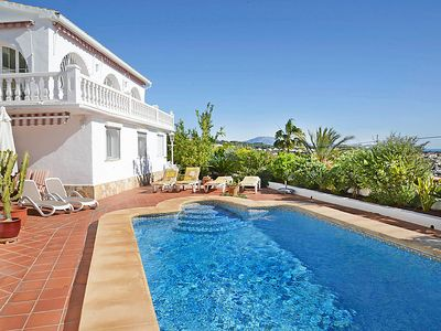 Photo for Vacation home La Golondrina  in Calpe/ Calp, Costa Blanca - 6 persons, 3 bedrooms