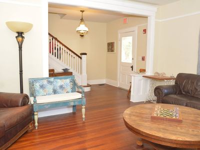 Photo for 1912 three story home offers old world character and great location