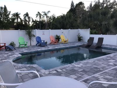 Photo for Charming Tropical Retreat, Fantastic Location with Heated Salt Pool