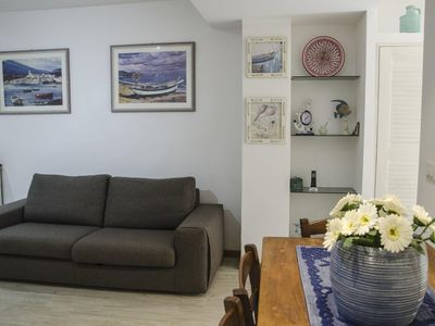 Photo for Pagello apartment in Alghero with WiFi, integrated air conditioning, private parking & balcony.