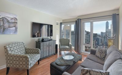Photo for Over 170 Five Star Reviews!!! HEART of DOWNTOWN With City & Lake View FREE Wifi