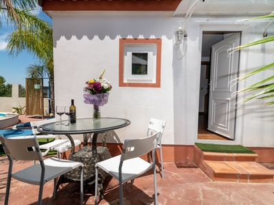 Photo for Relax in a mobile home, garden, pool, wifi, barbecue, last minute