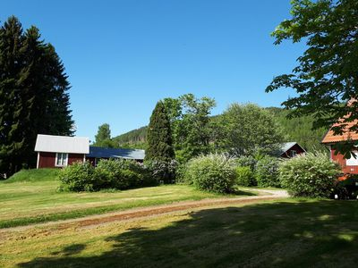 Photo for Beautiful typical Swedish house in the middle of beautiful nature and with a fantastic view